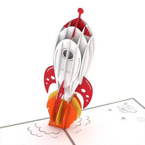 Rocket Ship greeting card -  Lovepop