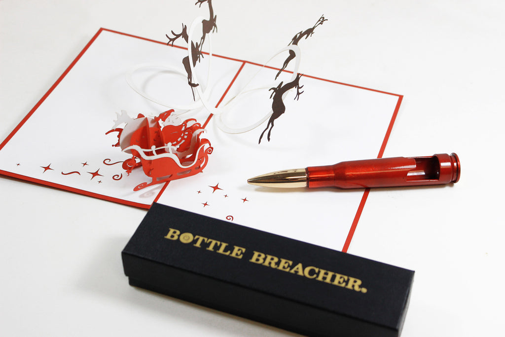 Bottle Breacher Pack pop up card