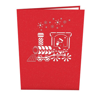 Shop all pop up greeting cards lovepop santa train pop up card m4hsunfo