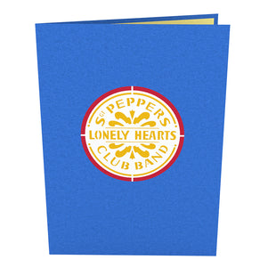 The Beatles Sgt. Pepper's Pop up Card