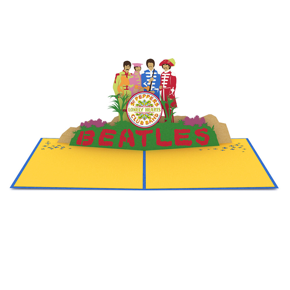The beatles lovepop the beatles sgt peppers pop up card greeting card lovepop m4hsunfo