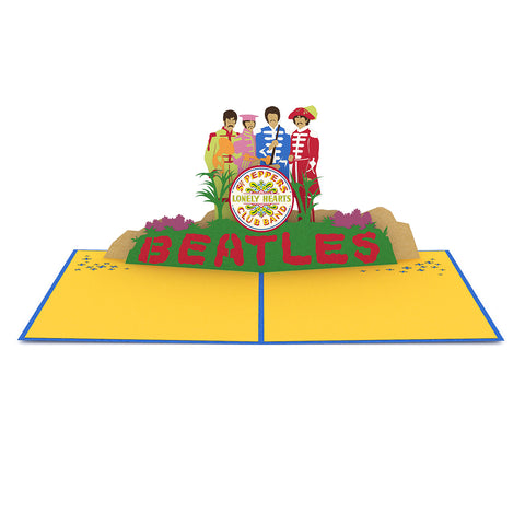 The Beatles Sgt. Pepper's Pop up Card greeting card -  Lovepop