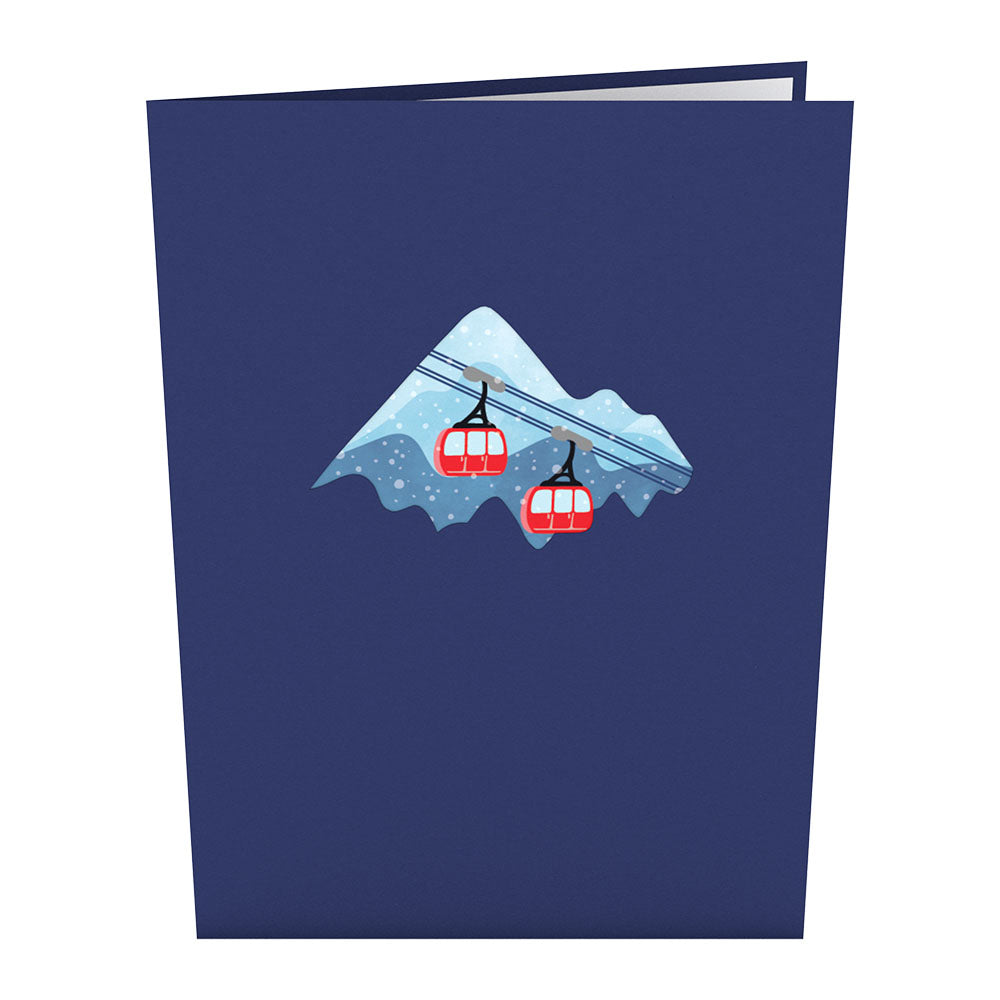 Ski Village             pop up card