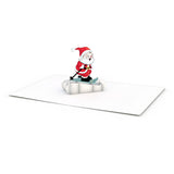 Santa Notecards (Assorted 4-Pack)                                   pop up card - thumbnail