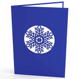 Snowflake Pop Up Christmas Card