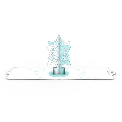 Snowflake Gift Tags 4 Pack greeting card -  Lovepop