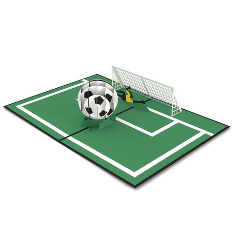Soccer Gal 3D Pop Up Card greeting card -  Lovepop