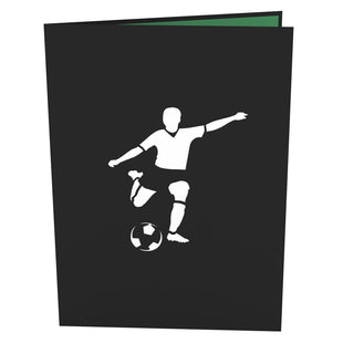 Soccer Guy 3D Pop Up Card