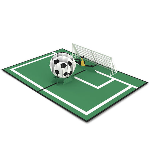 Soccer Guy 3D Pop Up Card greeting card -  Lovepop