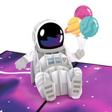 Space Birthday                                                                       pop up card - thumbnail