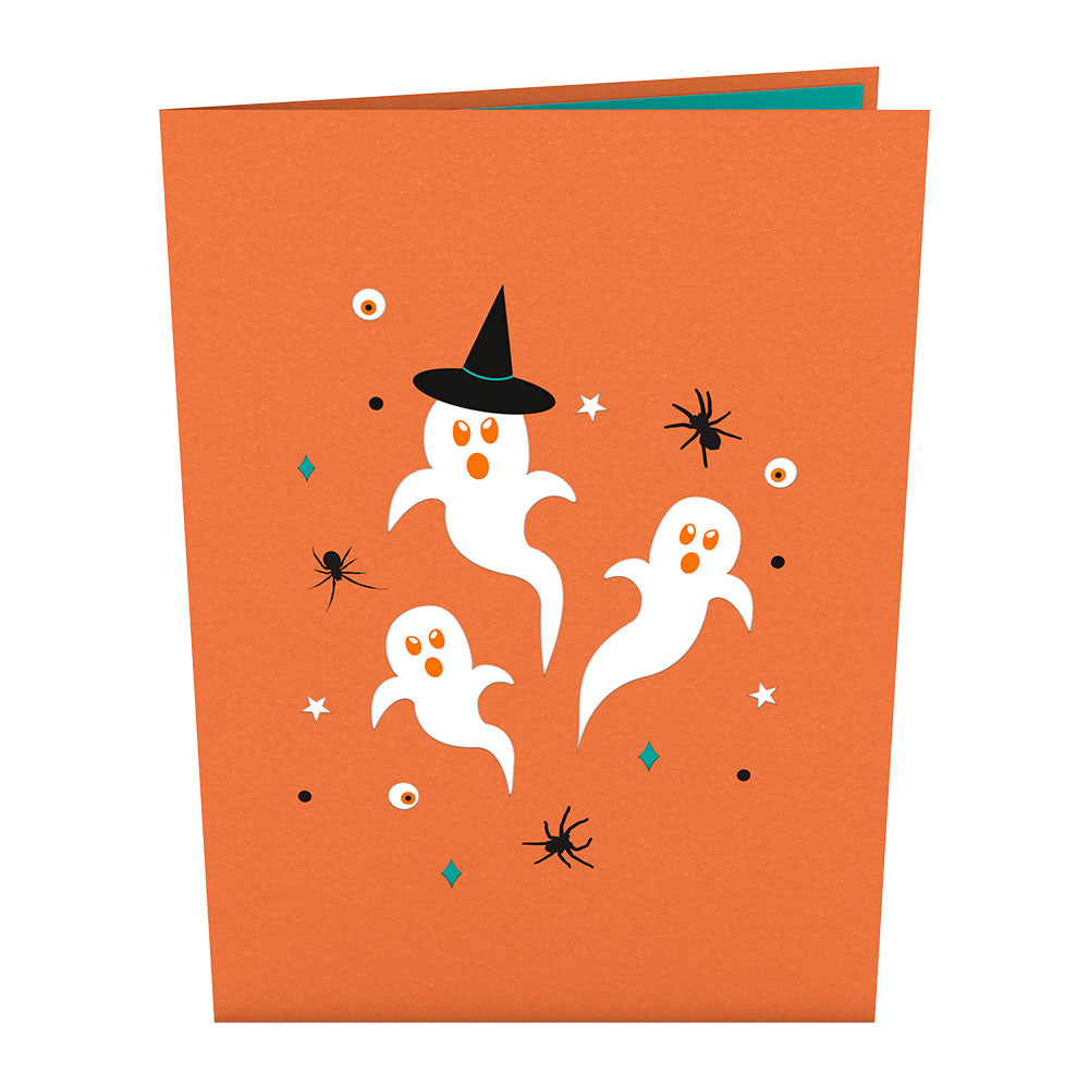 Spooky             pop up card