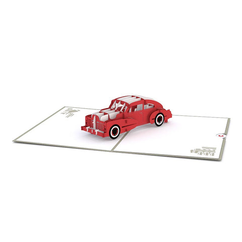 Sports Car Pop up Card greeting card -  Lovepop