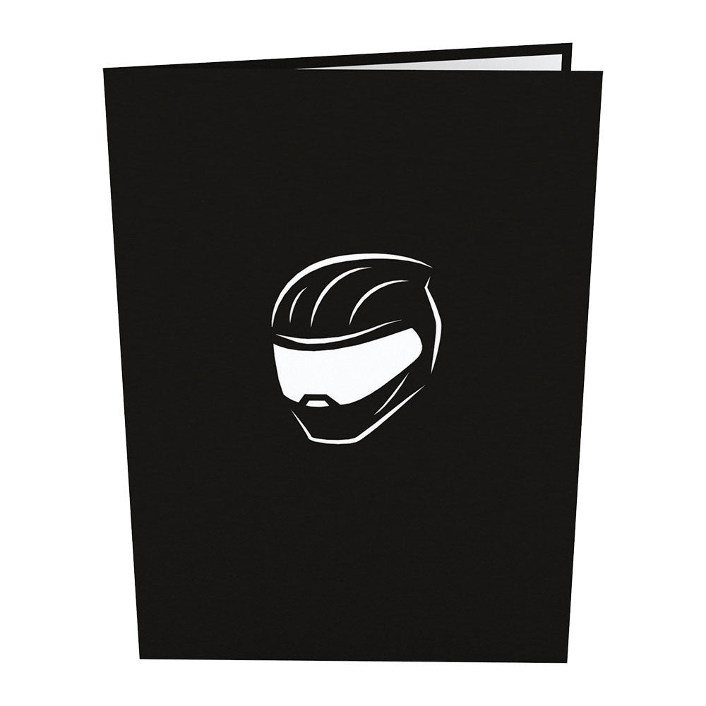 Sport Bike pop up card