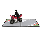 Sport Bike pop up card - thumbnail