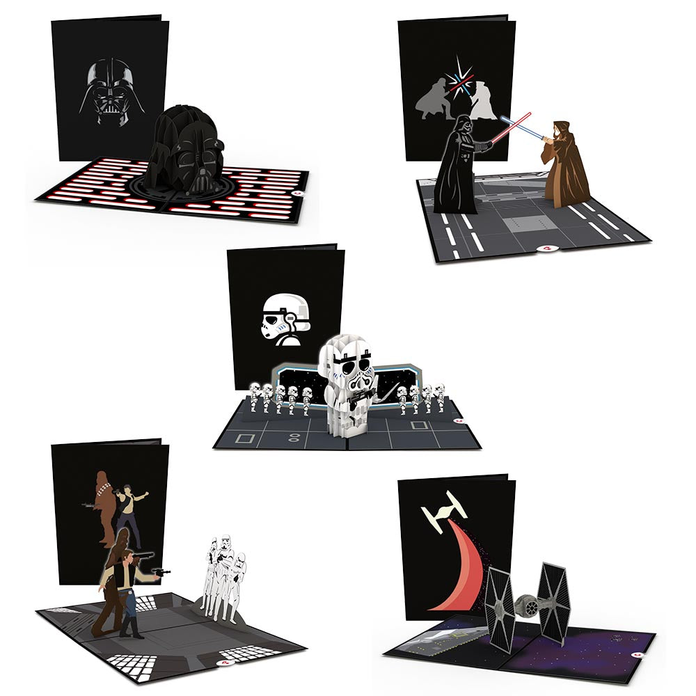 Star Wars™ Dark Side Limited Edition 5-Pack             pop up card