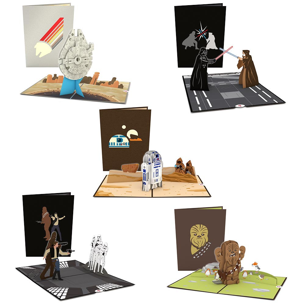 Star Wars™ Light Side Limited Edition 5-Pack             pop up card