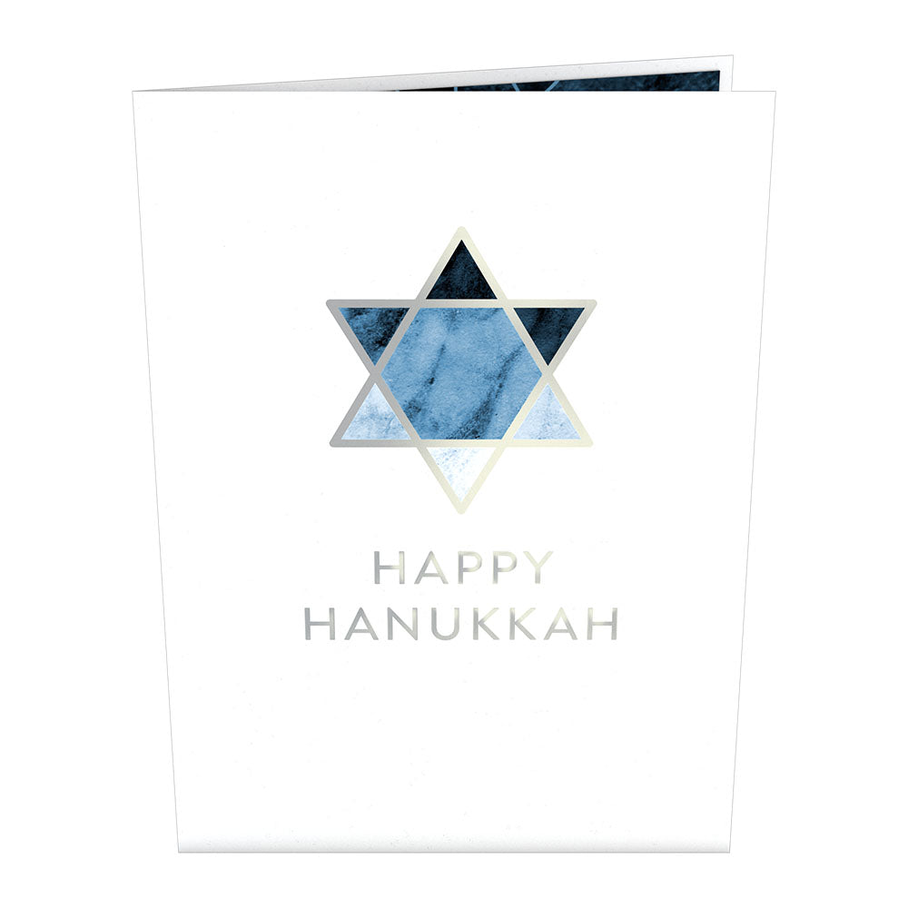Star of David             pop up card