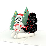 Star Wars Darth Vader™ Holiday Notecards (4 Pack)                                   pop up card - thumbnail