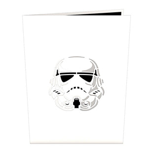 Star Wars Imperial Stormtrooper pop up card