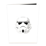 Imperial Stormtrooper™ birthday pop up card - thumbnail