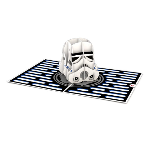 Star Wars Imperial Stormtrooper pop up card greeting card -  Lovepop