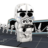 Stormtrooper™ Squad pop up card - thumbnail