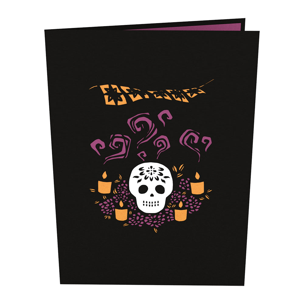 Sugar Skull pop up card