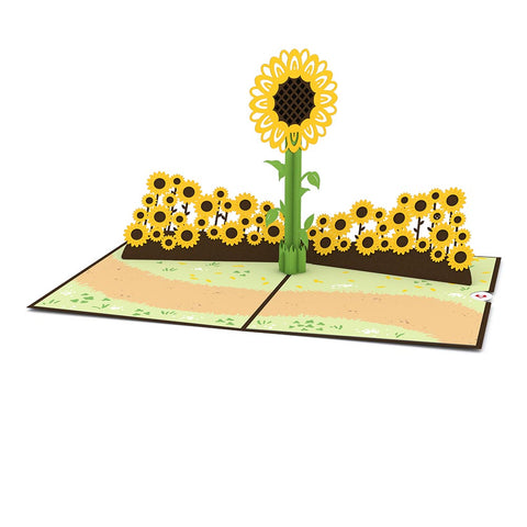 Sunflower Pop up Card greeting card -  Lovepop