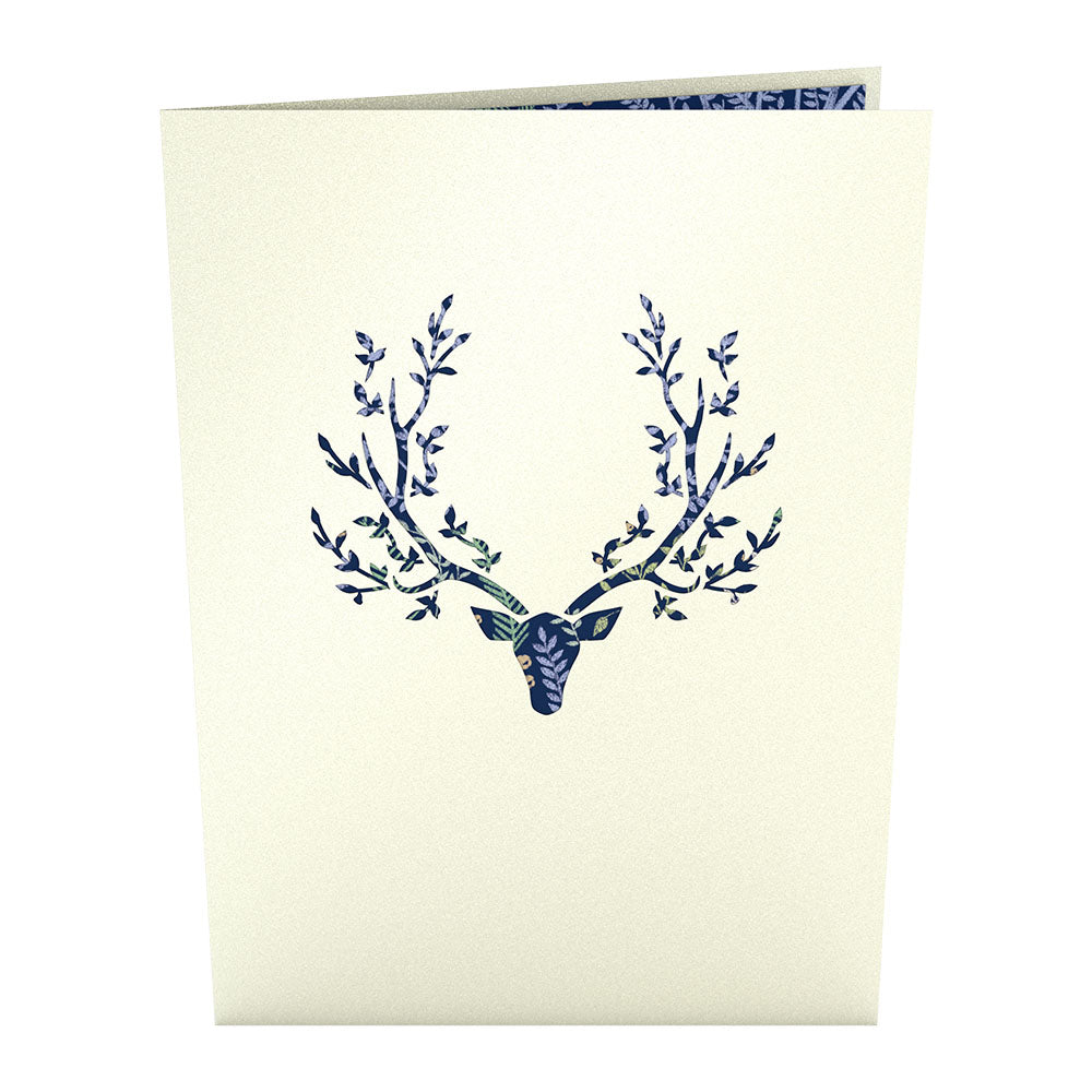Surreal Deer             pop up card