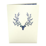 Surreal Deer                                   pop up card - thumbnail