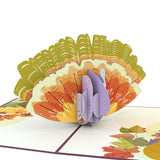 Thanksgiving Harvest Turkey                                   pop up card - thumbnail