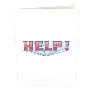 The Beatles HELP! Pop up Card