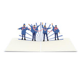 The Beatles Help!                                   pop up card - thumbnail
