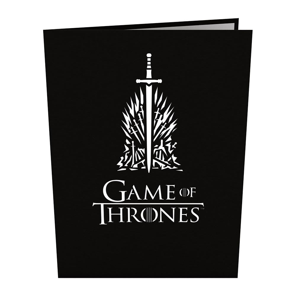 game thrones iron. The Iron Throne Birthday Pop Up Card Game Thrones 7