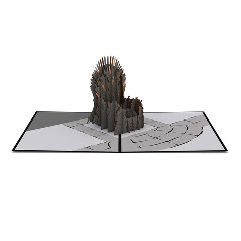 Game of Thrones The Iron Throne Pop up Card greeting card -  Lovepop