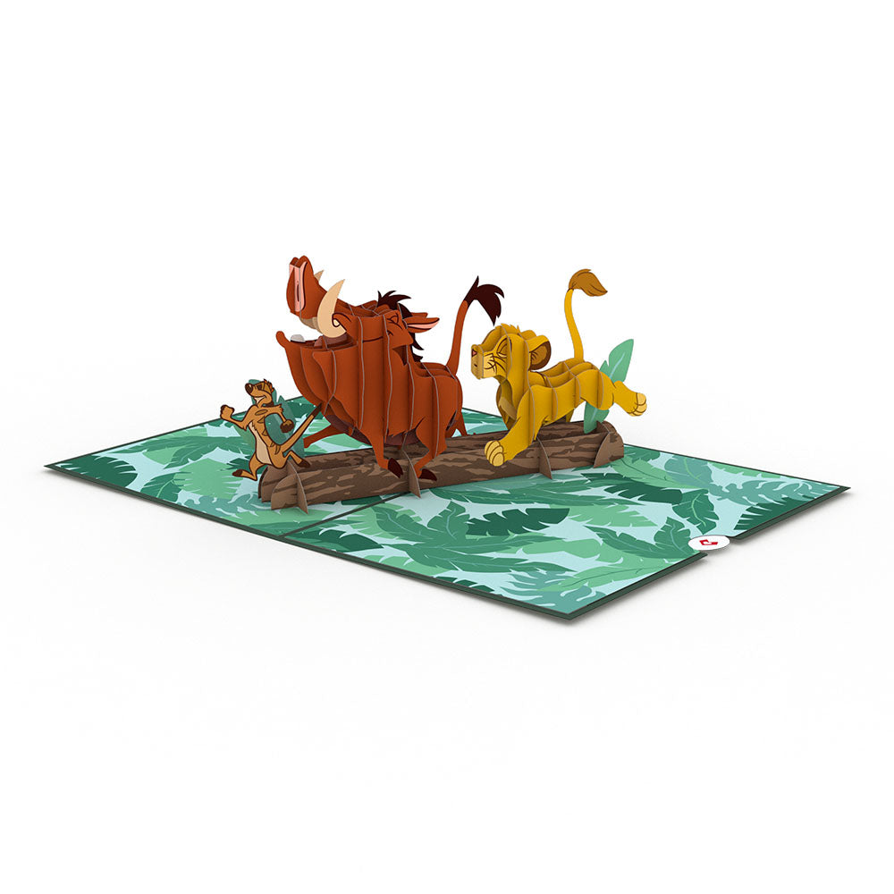Disney's The Lion King No Worries Pop-Up Card