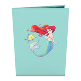 Disney's The Little Mermaid                                                          birthday                                                     pop up card - thumbnail