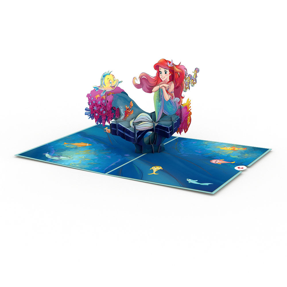 Disney's The Little Mermaid birthday pop up card