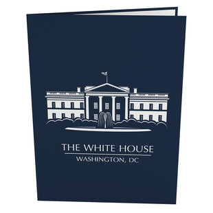 White House Pop Up Greeting Card
