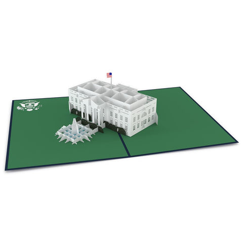 White House Pop Up Greeting Card greeting card -  Lovepop