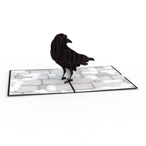 Three-Eyed Raven greeting card -  Lovepop