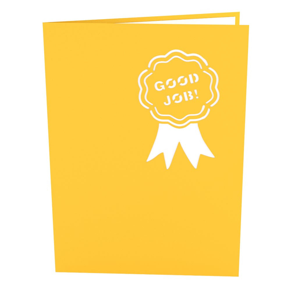 Thumbs Up pop up card