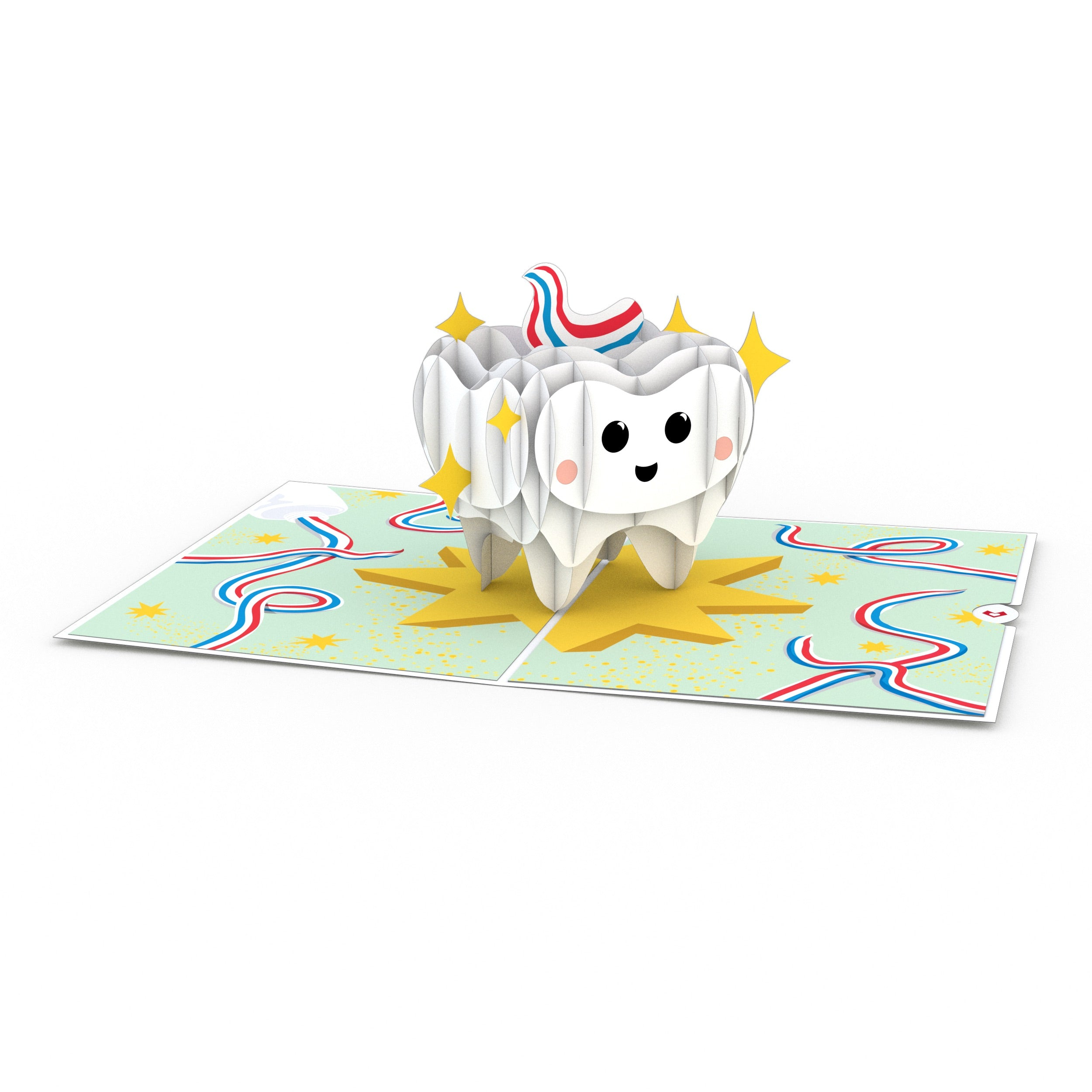 Tooth 3D card