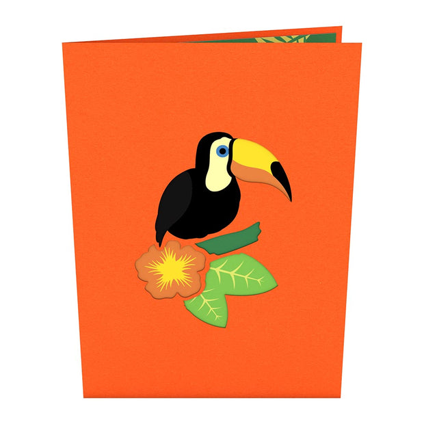 Toucan Pop up Card
