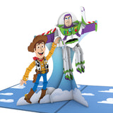 Disney Pixar's Toy Story Woody & Buzz                                   pop up card - thumbnail