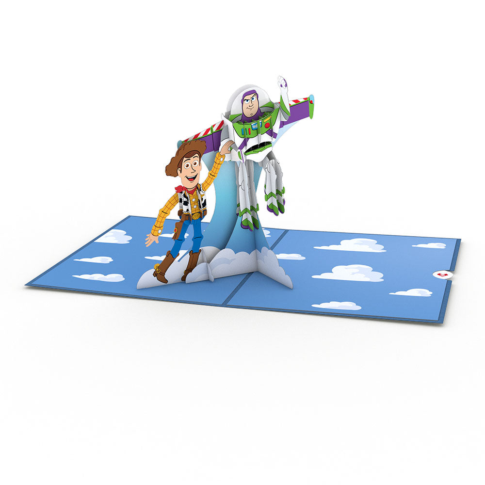 Disney Pixar's Toy Story Woody & Buzz             pop up card