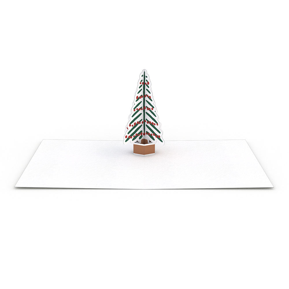 Holiday Tree Notecards (Assorted 4-Pack)
