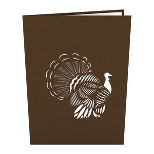 Thanksgiving Turkey Pop up Card