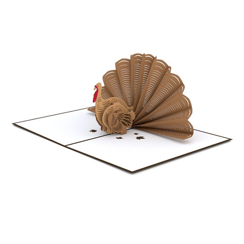 Thanksgiving Turkey Pop up Card greeting card -  Lovepop