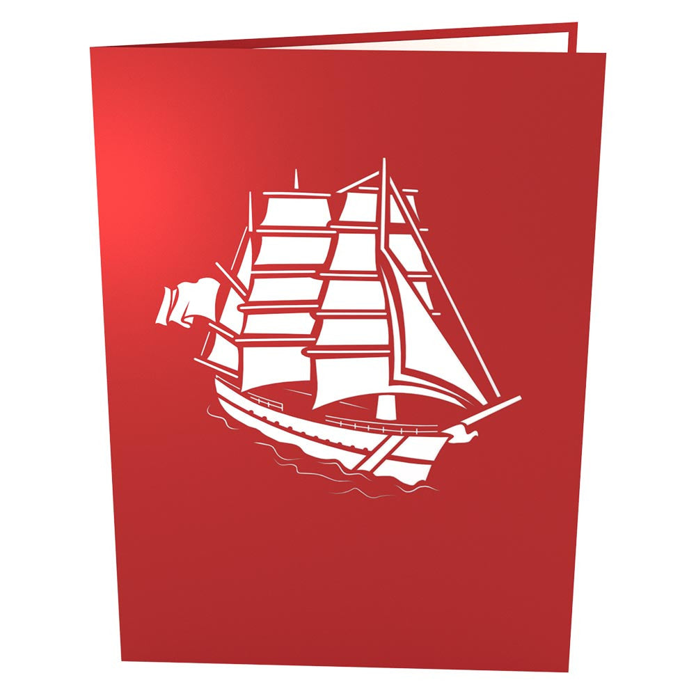 USCG Eagle pop up card